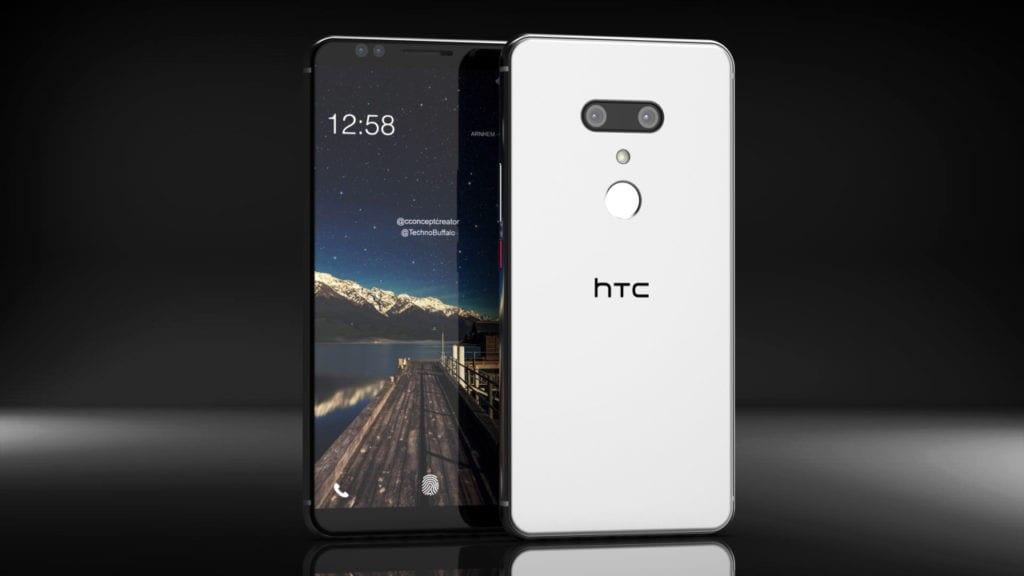Рис. 3. Модель HTC U12 Plus – фаблет с восприятием силы сжатия.
