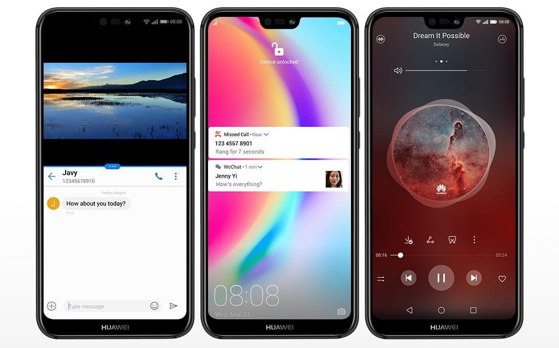 Рис. 5. Телефон Huawei P20 Lite – большой экран и неплохое качество съёмки.