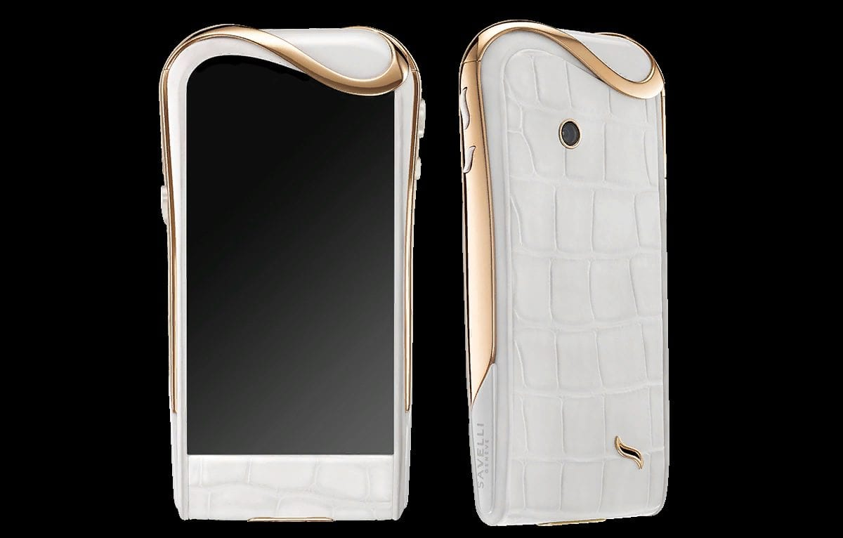 Рис. 10. Швейцарский премиальный смартфон от бренда Savelli.
