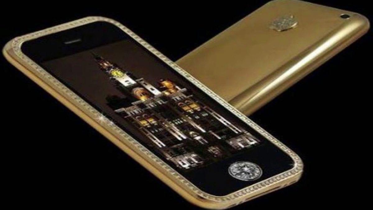Рис. 4. Небольшой по размеру, но очень стильный смартфон iPhone 3GS Supreme.
