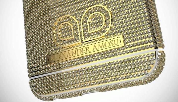 Рис. 5. Фирменный логотип дизайнера на корпусе Amosu Call of Diamond.