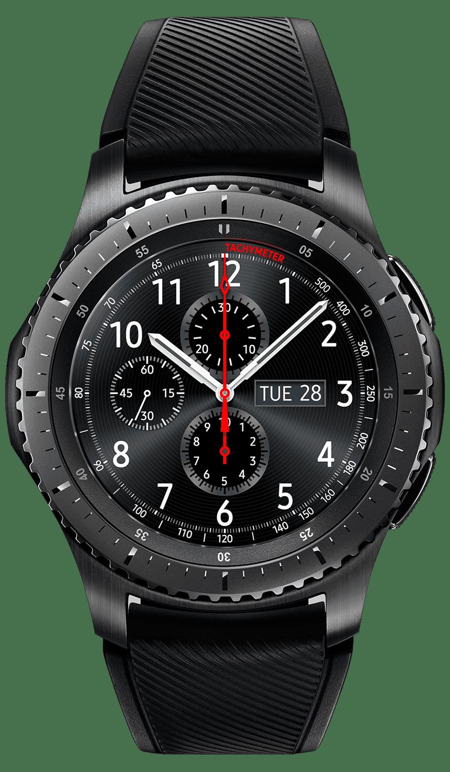 Рис. 1. «Умные часы» Gear S3 Classic – оптимальный выбор для любого пользователя.