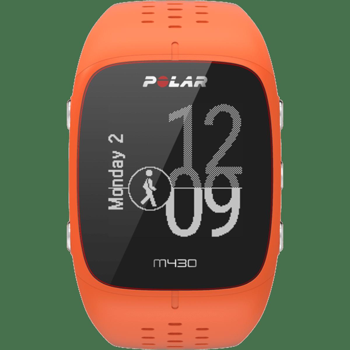 """Рис. 10. Модель Polar M430 – """"умные часы"""" с большой диагональю дисплея."""