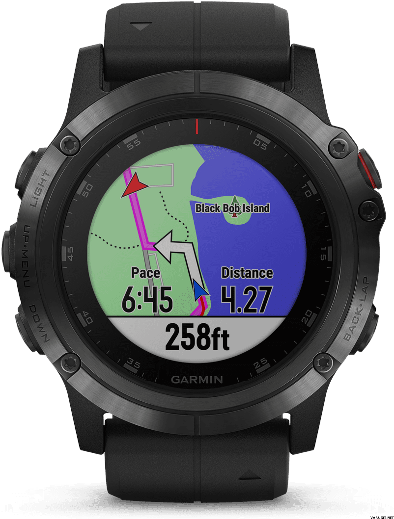 Рис. 2. Премиальные смарт-часы Garmin Fenix 5X Plus с высокой стоимостью.