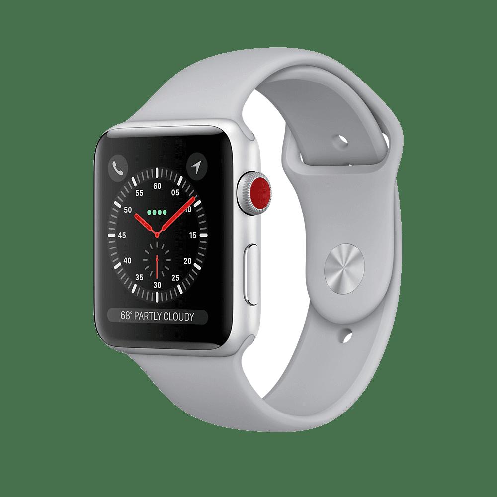 Рис. 4. Стильные и тонкие смарт-часы Apple Watch Series 3.