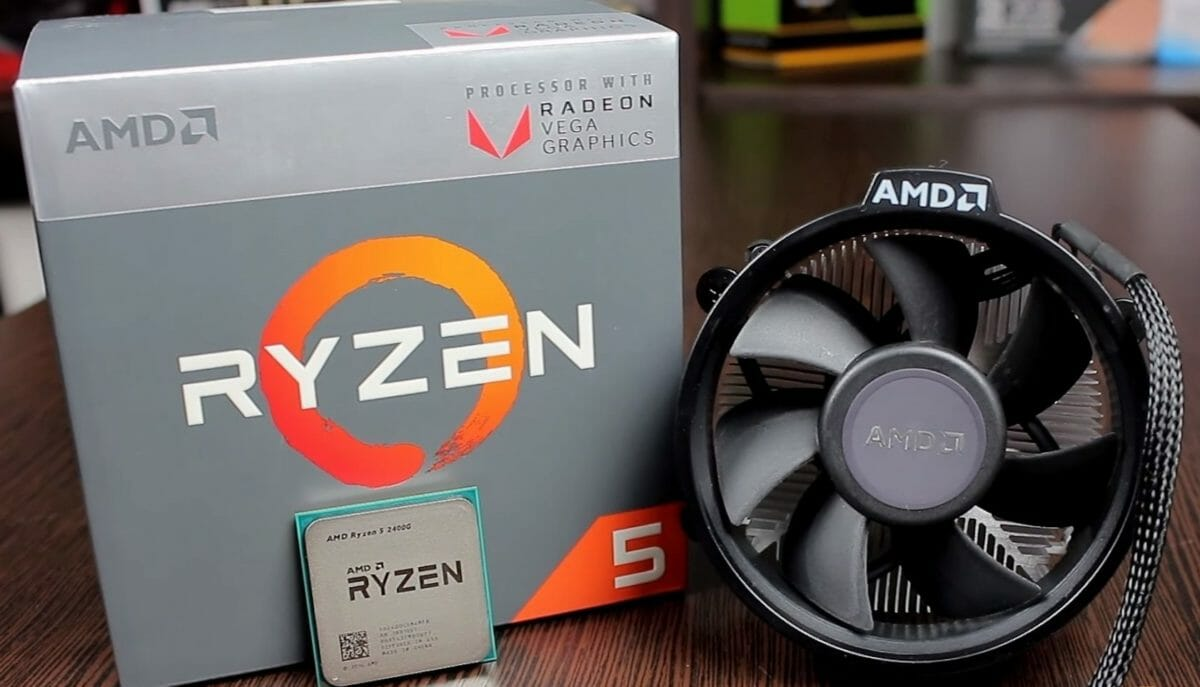 Рис. 8 – AMD Ryzen 5 2400G