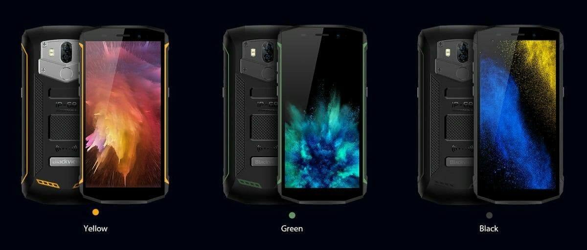 Рис. 10. Blackview BV5800 Pro – мобильное устройство с максимальной ёмкостью аккумулятора.