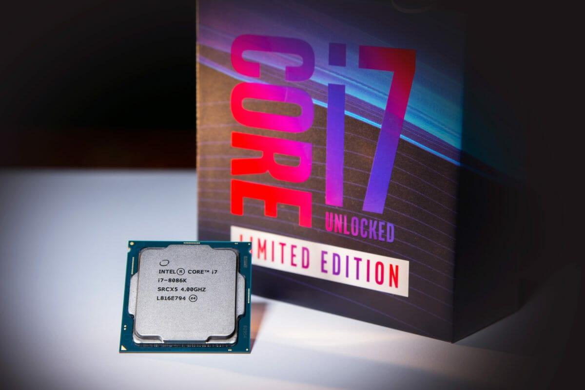 Рис. 5 - Intel Core i7-8086K