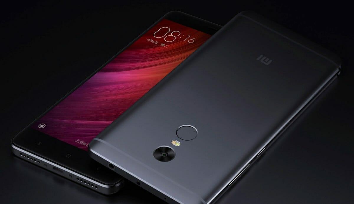 Рис. 2. Xiaomi Redmi Note 4X – не новый, но всё равно высокопроизводительный смартфон.