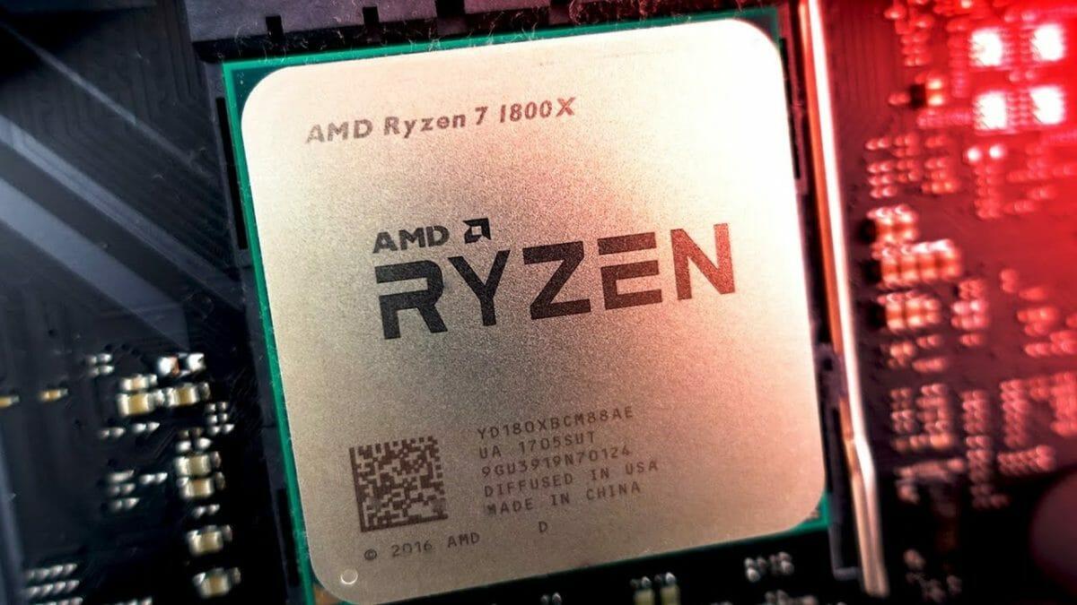 Рис. 2 - AMD Ryzen 7 1800X