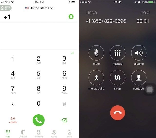 Рис. 6 Call Recorder for Phone Calls