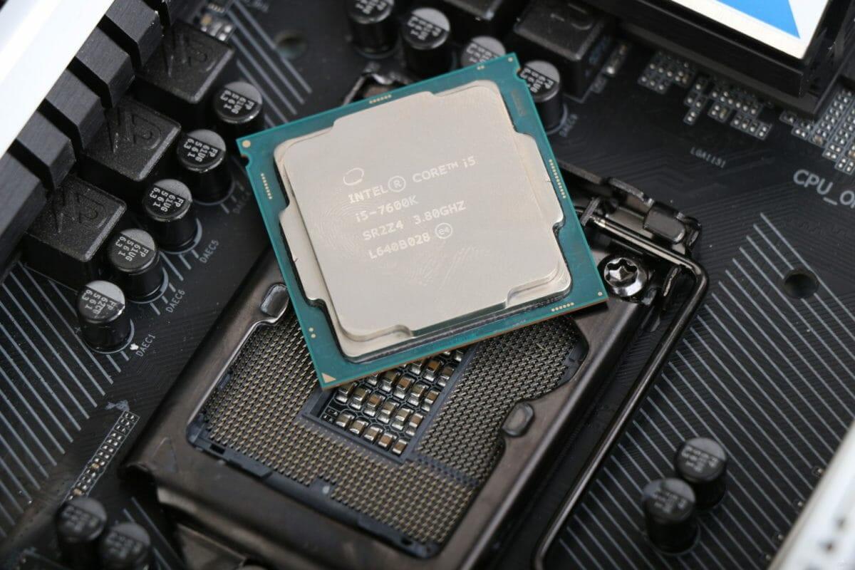 Рис. 4 - Intel Core I5-7600K