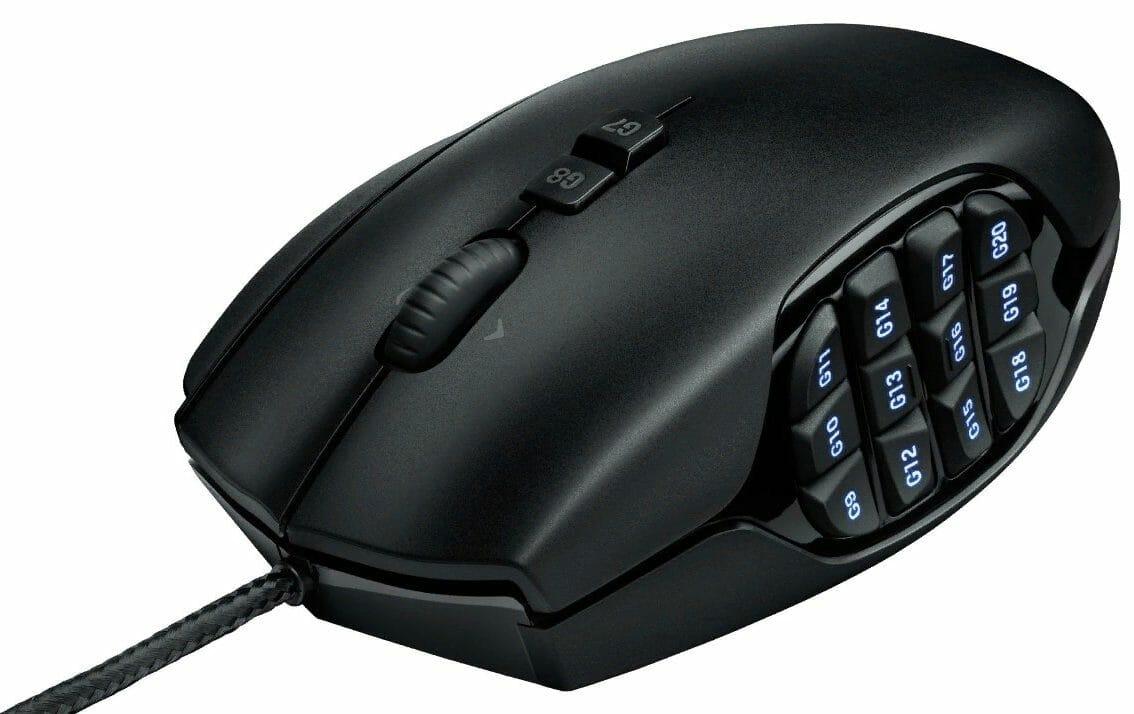 Рис. 10. Компьютерная мышь с 20 кнопками.