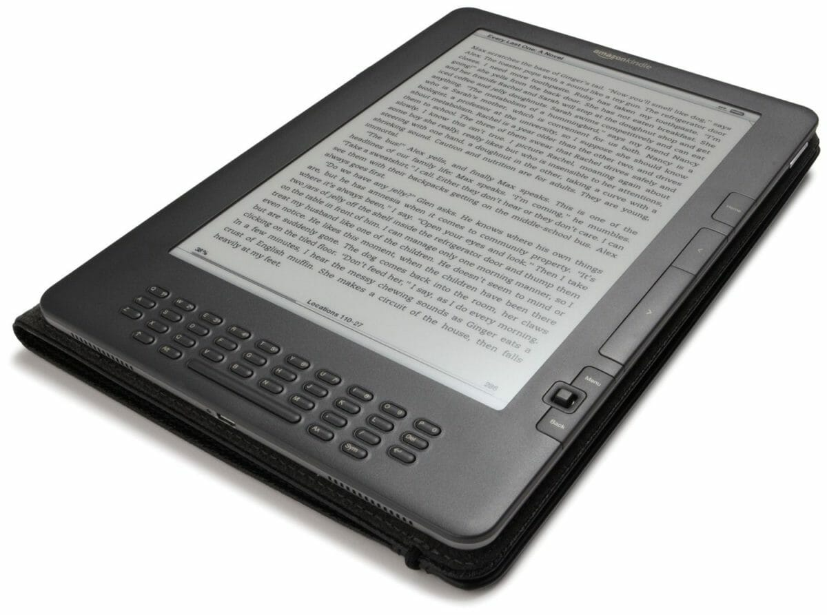 Рис. 12 Amazon Kindle DX