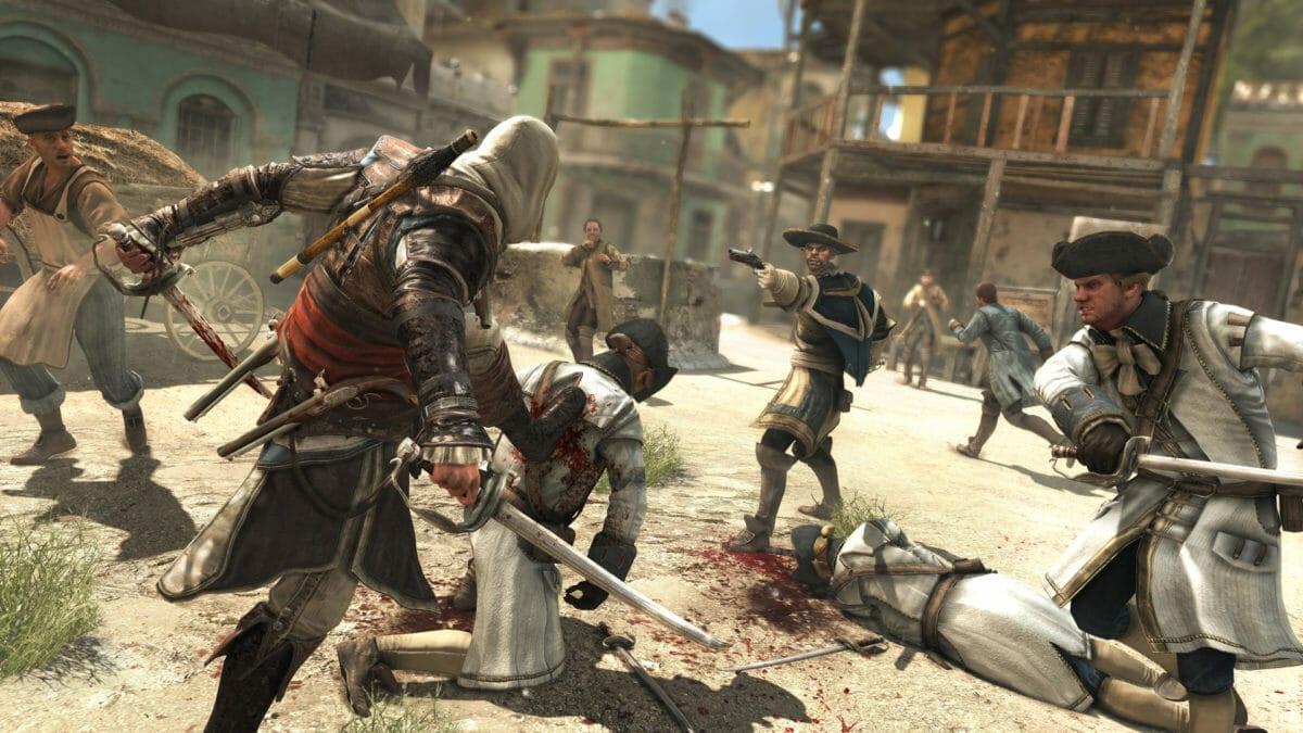 Рис. 1 - Assassin's Creed 4: Black Flag