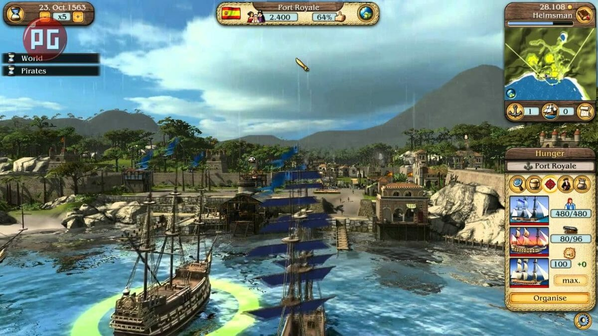 Рис. 5 - Port Royale 3: Pirates & Merchants