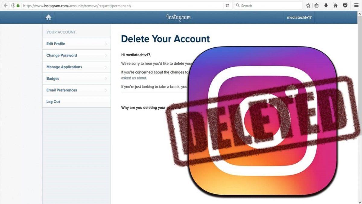 Как удалить аккаунт в Инстаграме навсегда или временно — пошаговая инструкция