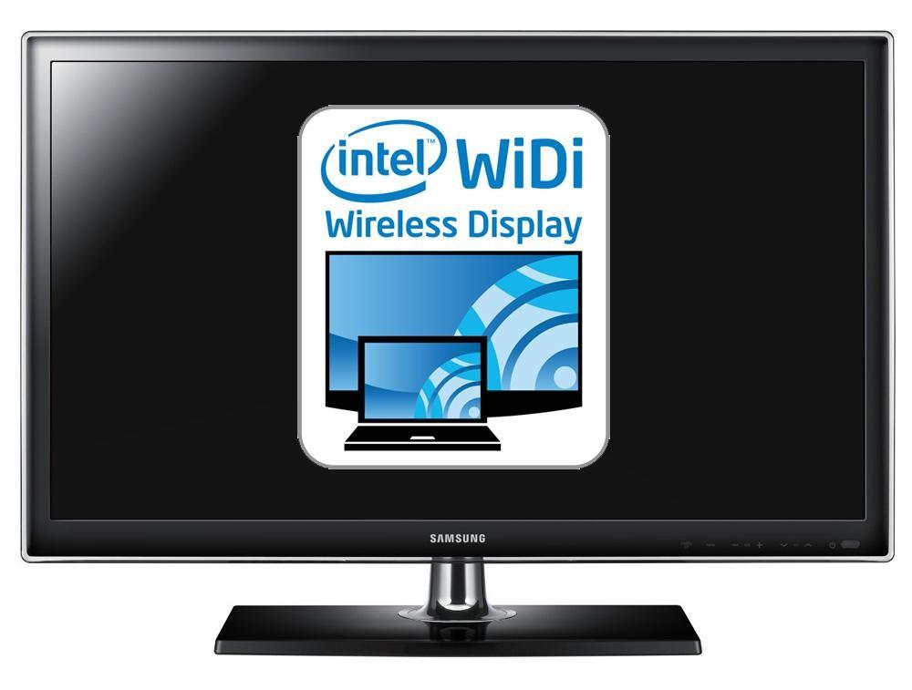 Рис. 18 Intel WiDi