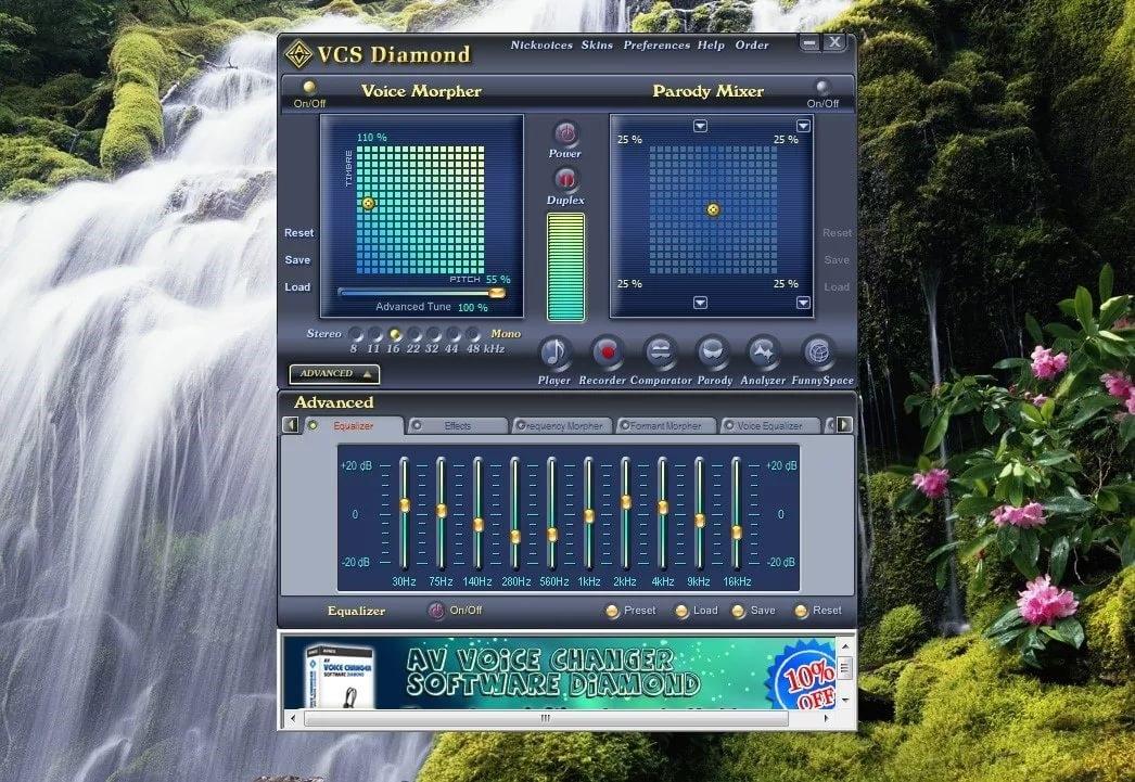 Рис.2 AV Voice Changer Diamond