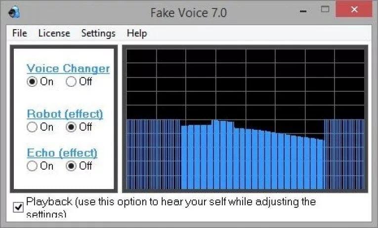 Рис. 7 Fake Voice