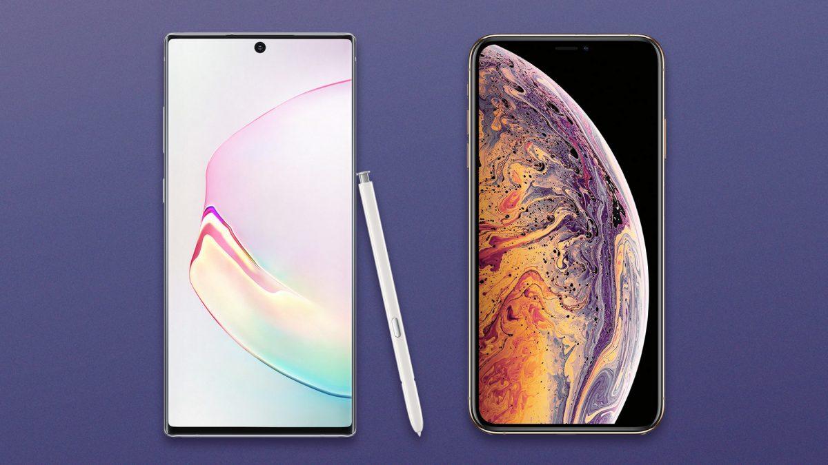 Что выбрать iPhone 11 Pro или Galaxy Note 10